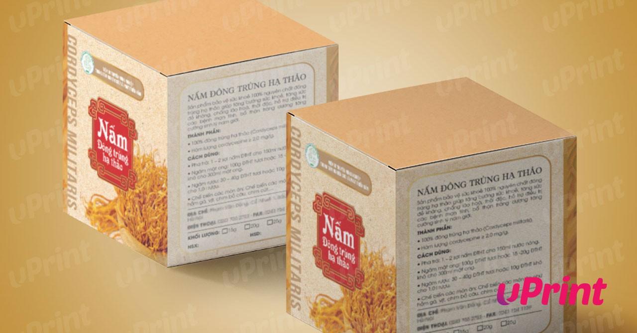 In hộp giấy lấy ngay - thiết kế miễn phí - giá rẻ tại Hà Nội - Uprintvn